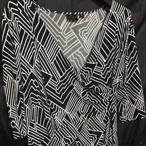 Women's Tribal shirt.
